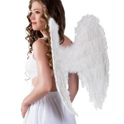 Vleugels veren wit