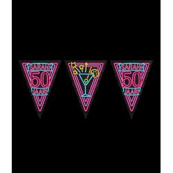 Vlaggenlijn Neon 50 Sarah