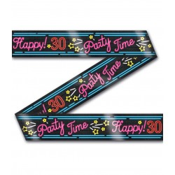 Party tape Neon 30