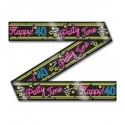 Party Tape Neon 40