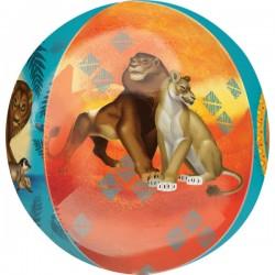 Heliumballon Orbz Lion King