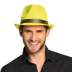 Gleufhoed fluor geel