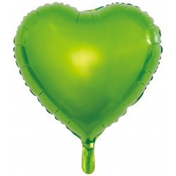 Heliumballon hart groen