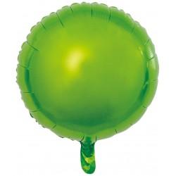 Heliumballon rond groen