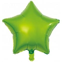 Heliumballon ster groen