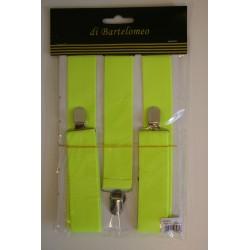 Bretels fluor geel