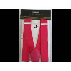 Bretels fluor roze