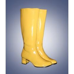 Laarzen vrouw geel
