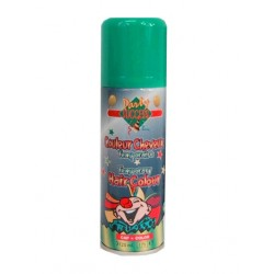 Haarspray groen