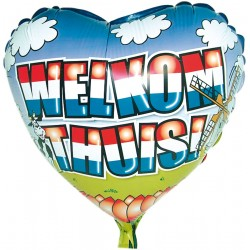 Heliumballon Welkom Thuis standaard