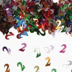 Tafeldecoratie / confetti 2