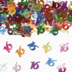 Tafeldecoratie / confetti 16