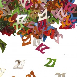 Tafeldecoratie / confetti 21