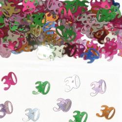 Tafeldecoratie / confetti 30