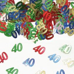 Tafeldecoratie / confetti 40