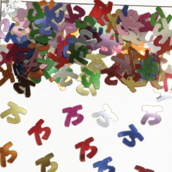 Tafeldecoratie / confetti 75