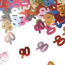 Tafeldecoratie / confetti 90