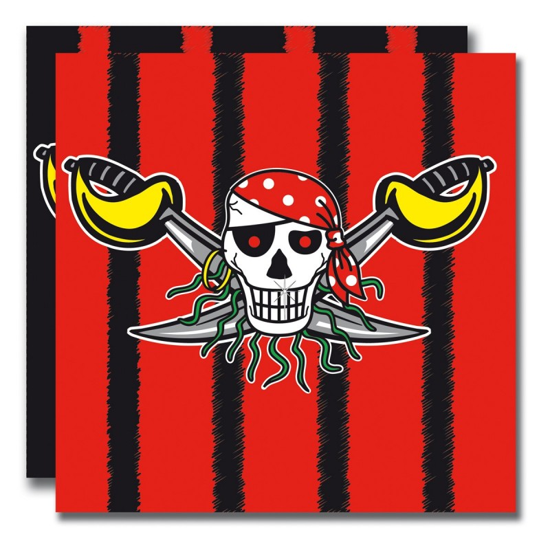 Servetten piraat