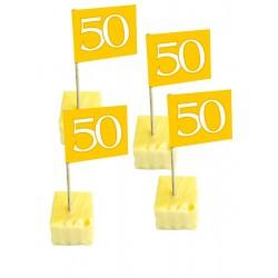 Prikker 50 goud