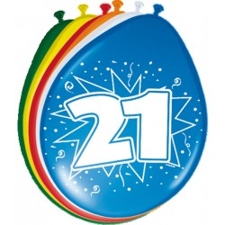 Ballonnen 21 jaar