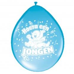 Ballonnen hoera een jongen