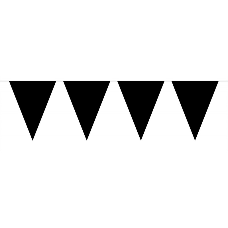 Vlaggenlijn zwart