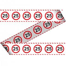 Markeerlint verkeersbord 25