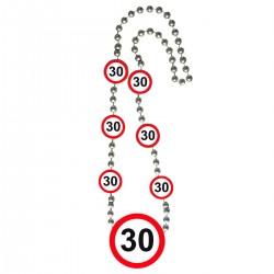 Ketting verkeersbord 30