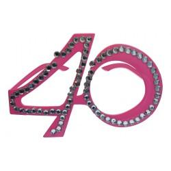 Bril 40 jaar roze