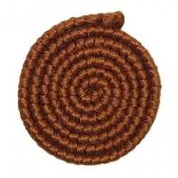 Wolcrepe 07 kastanje bruin