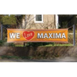 Banier We love Maxima
