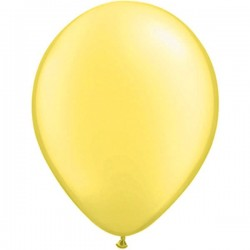 Ballon metallic geel