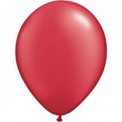 Ballon metallic rood