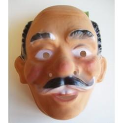 Masker plastic opa krulsnor