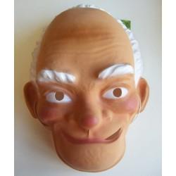 Masker plastic opa wit