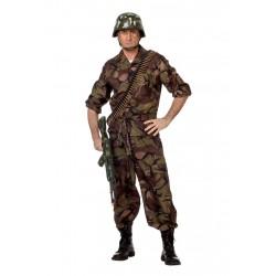 Kostuum soldaat camouflage