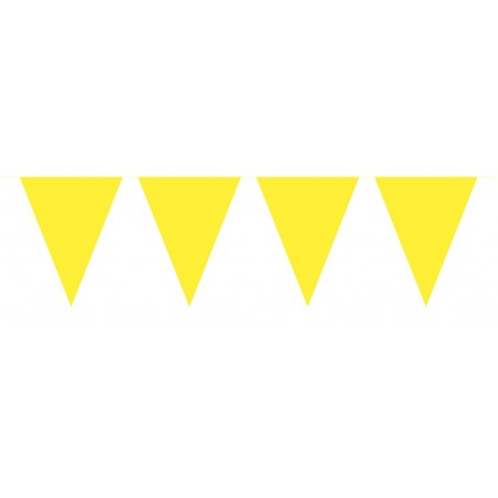 Vlaggenlijn mini geel