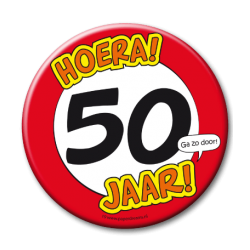XL Button - 50 jaar