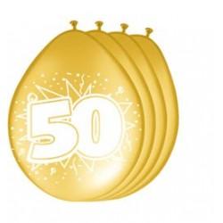 Ballonnen 50 goud