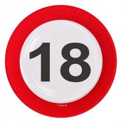 Bordjes 18 verkeersbord