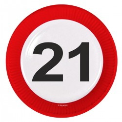 Bordjes 21 verkeersbord