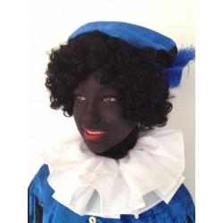 Kraag zwarte Piet wit