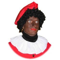 Kraag Zwarte Piet katoen