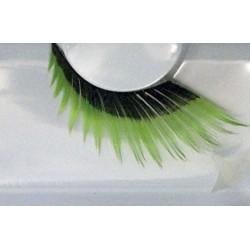 Wimpers 154 zwart met groen