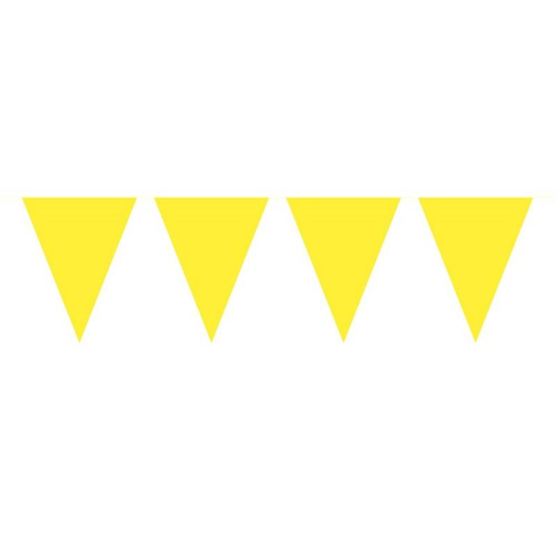 Vlaggenlijn geel