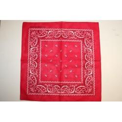Zakdoek / bandana rood