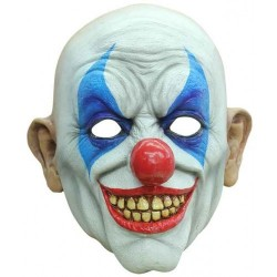 Masker latex clown Happy