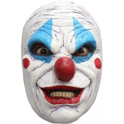 Masker latex clown met open mond