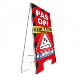 Warning Sign Geslaagd Rijbewijs