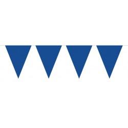 Vlaggenlijn blauw XL